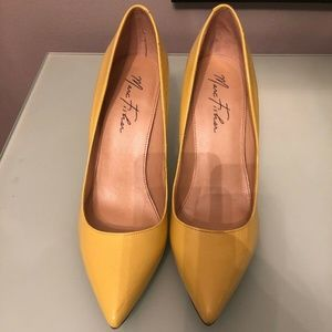 Marc Fisher Yellow Pumps Size 9M